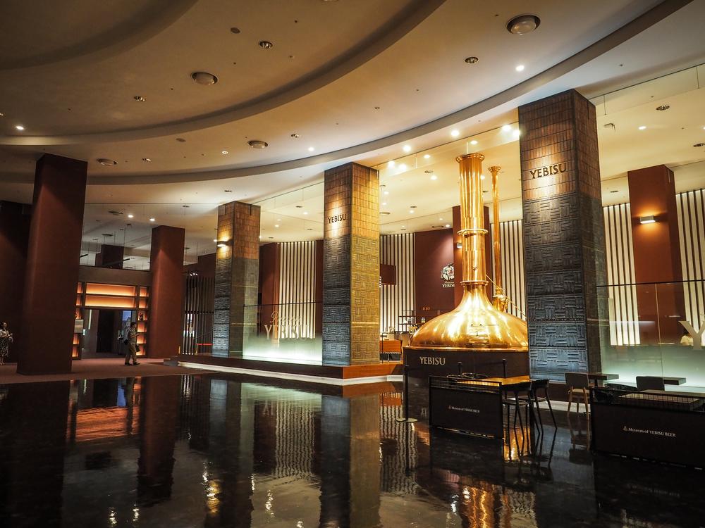 The main lobby