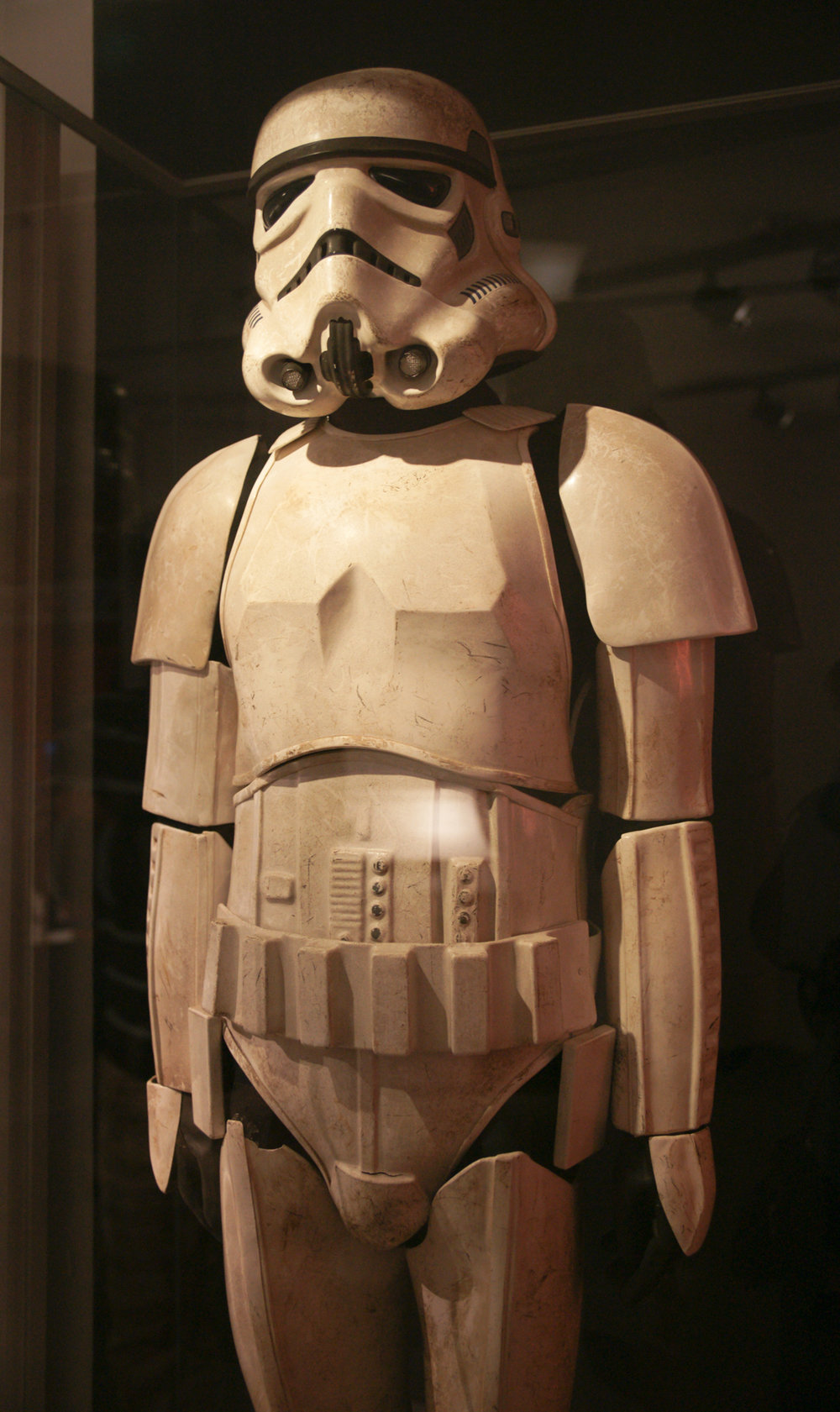 Stormtrooper at Star Wars Exhibit