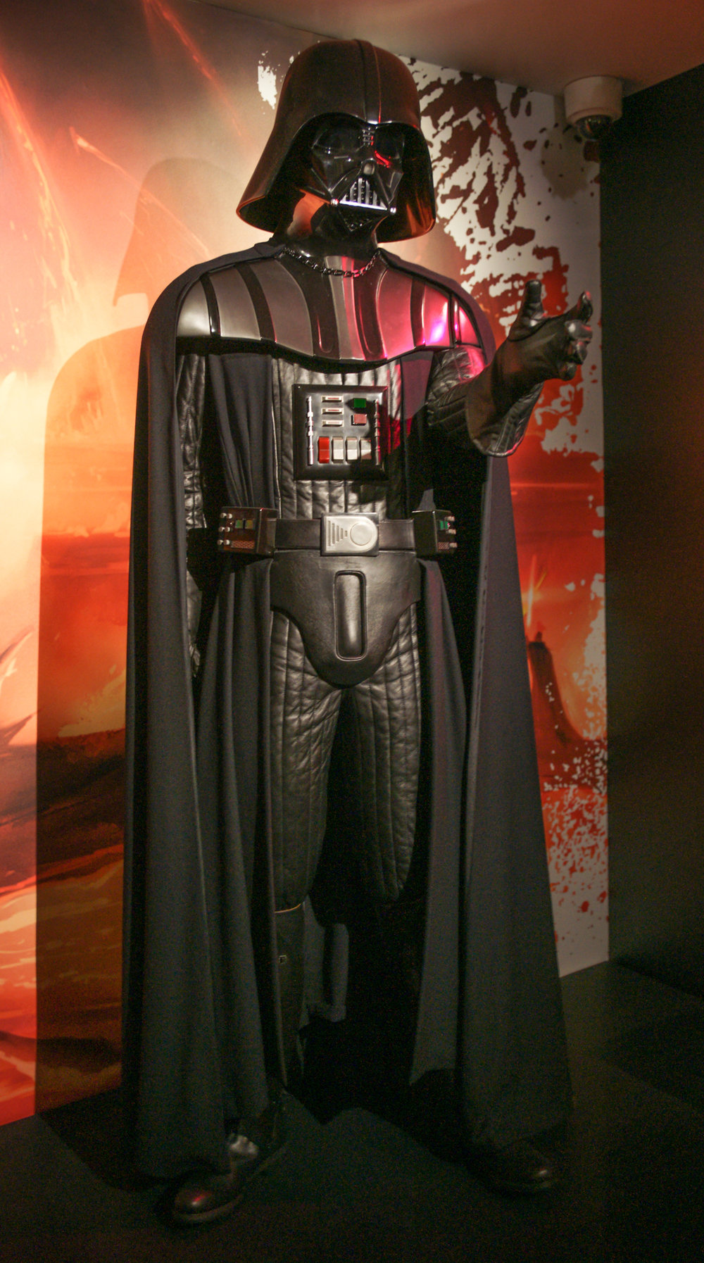 Darth Vader at Star Wars Exhibit