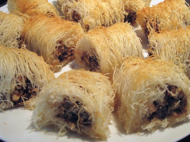 Shredded Filo Rolls