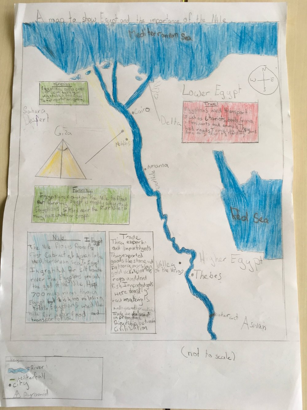 Year Maps Of Ancient Egypt Nationsinsocorg - Map of ancient egypt for students