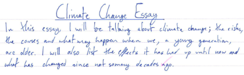 How To Write A Proposal Essay Outline Year   Climate Change Essays Essay On Business Management also Computer Science Essay Topics Year   Climate Change Essays  Nationsinsocorg Sample Essay Proposal