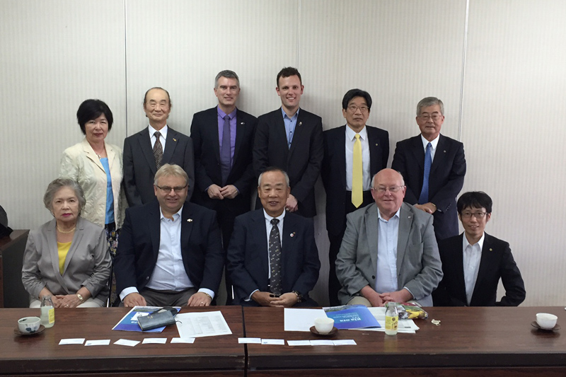 Meeting the Minoh Chamber of Commerce & Industry