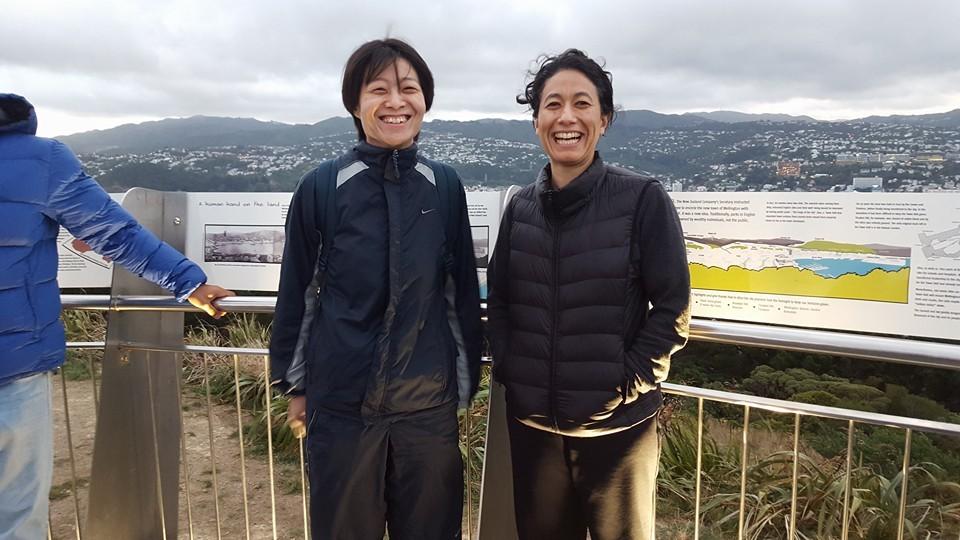 L to R: Kodama Makoto Sensei, Hayama Aboutaleb