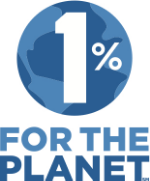 1 percent for the planet logo - Chantal Ireland