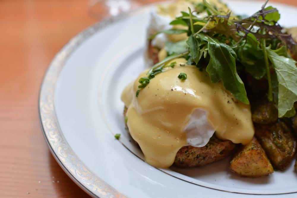 Eggs Benny Norther Quarter // image by Chantal Ireland