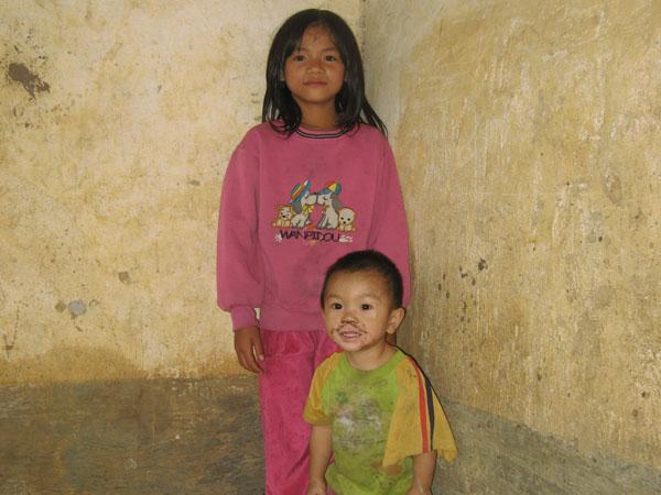 Sadie    家中的貧困境況成為入住陽光兒童村的首要考慮