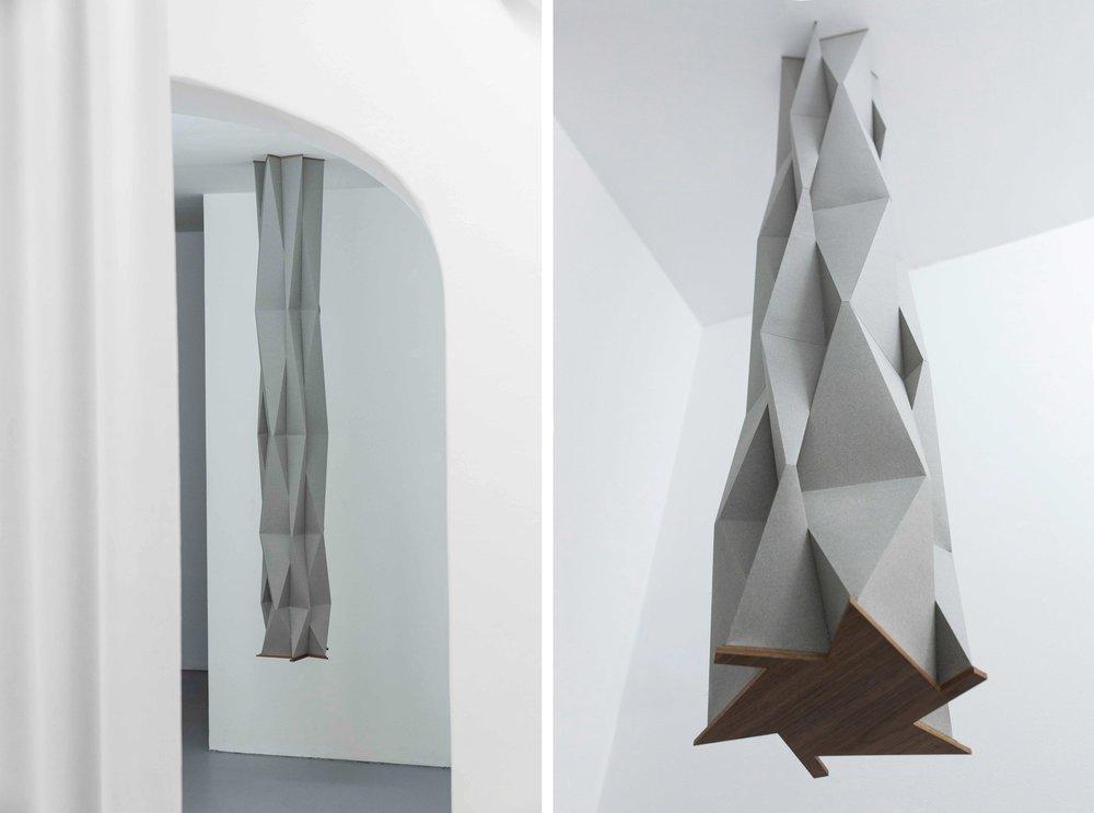 Support   paper, wood. Gallery Gilla Loercher. 2018