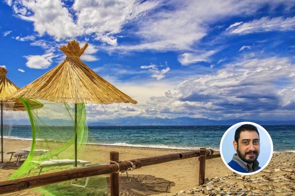 Spiaggia di Rossano e Mario Guarasci, Local Expert della Piana di Sibari.