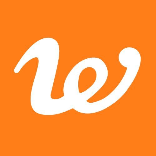 """Il marchio di We Manduria che rappresenta una """"W"""" ed una """"E"""" ma ricorda anche un abbraccio."""