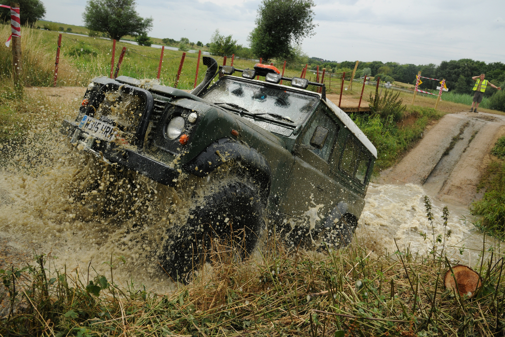 Dare to drive along our   Off Road Lakeside Course    Discover More