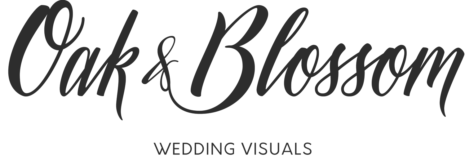 Oak & Blossom Wedding Visuals