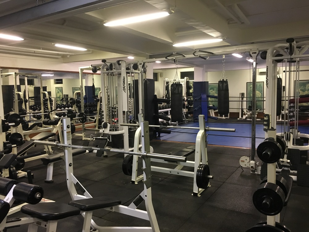 Oh, that's what the inside of a hotel gym looks like!