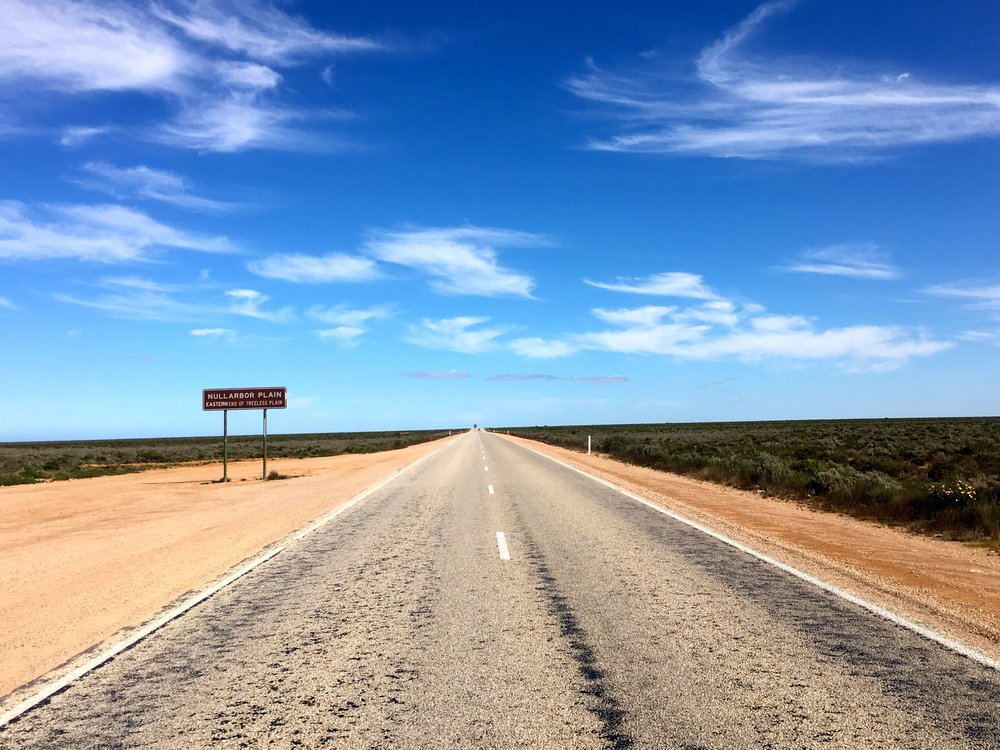The road will feel as long as the Nullarbor if you get thrown up on!