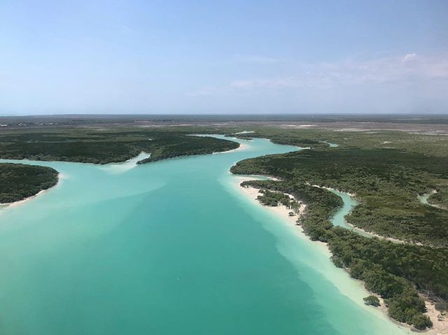 Broome is beautiful from the air... and #nofilterneeded