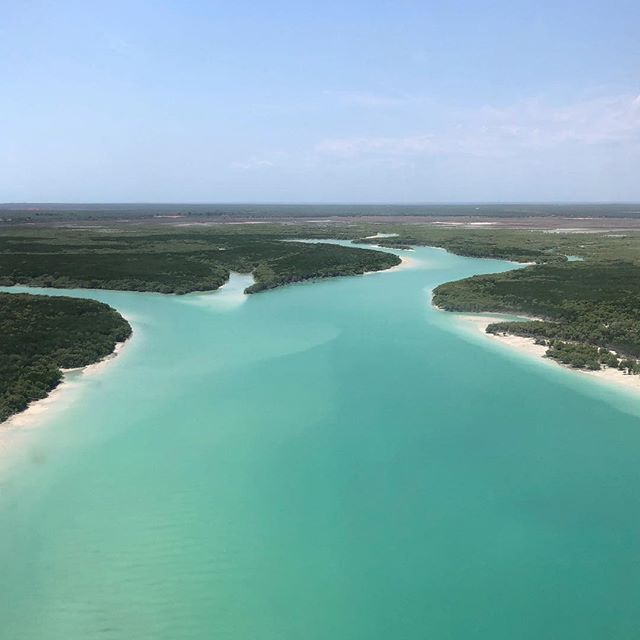 Broome from above.