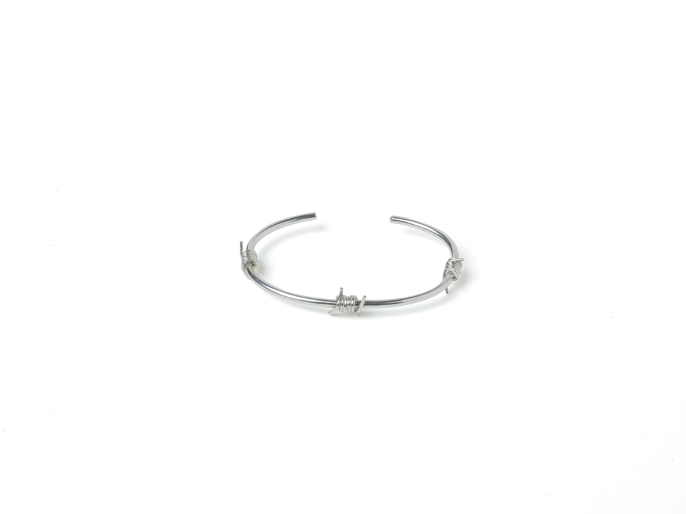LANOLANO Barbed Wire Bangle