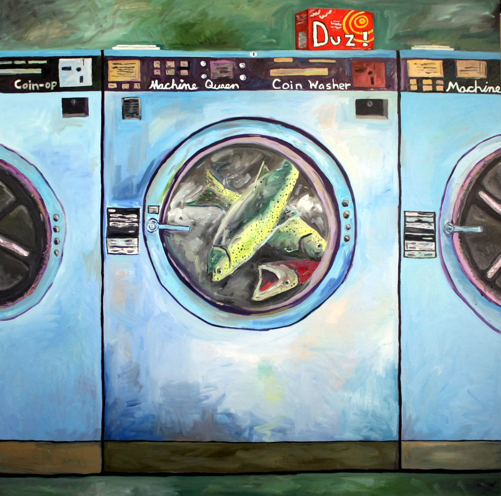 Salmon in the Laundromat