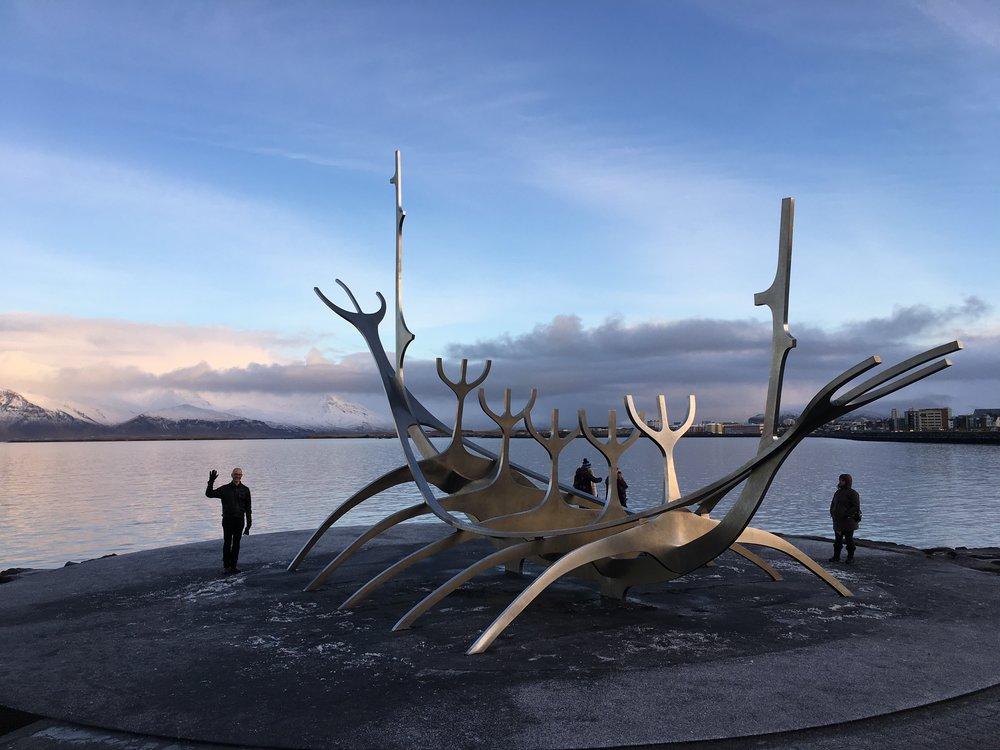 The Sun Voyager by Jón Gunnar Arnason
