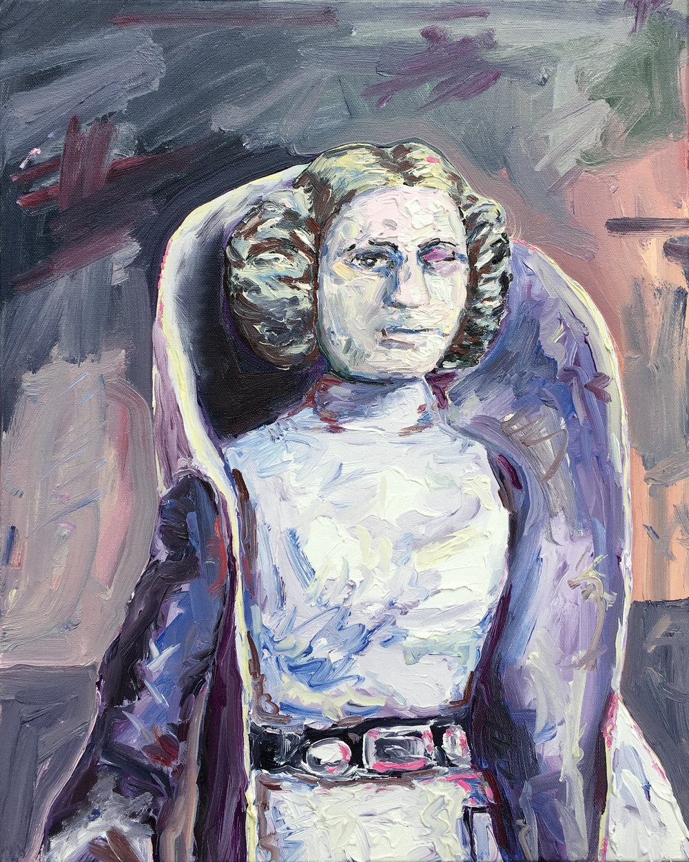 Untitled (1977 Princess Leia 2)