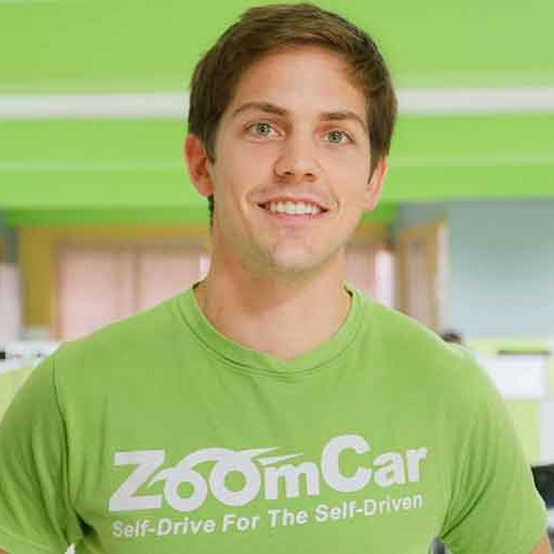 Greg Moran   Co-Founder & CEO, Zoomcar