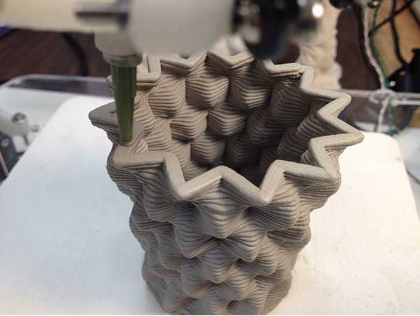 the london mural company x 3-d printed ceramics