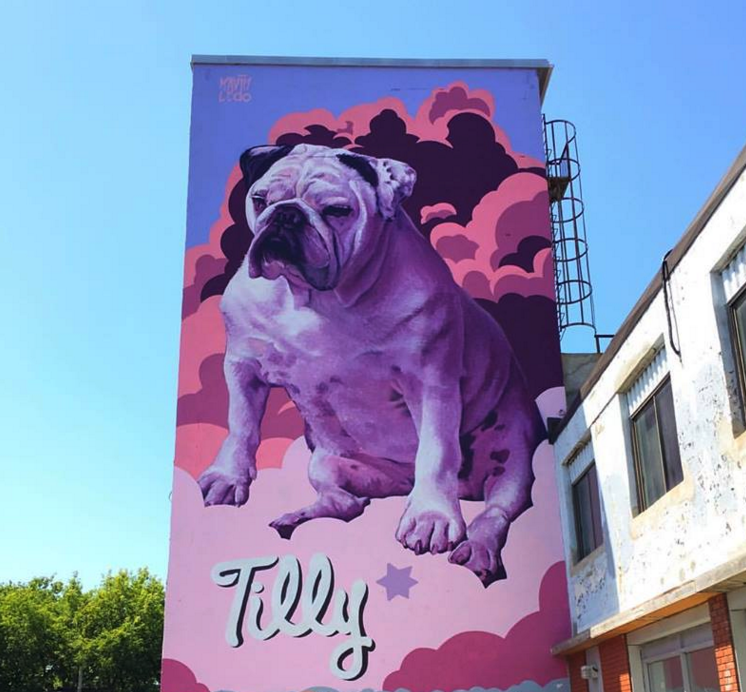 The london mural Company x Kevin Ledo