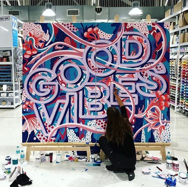 the london mural company x good type