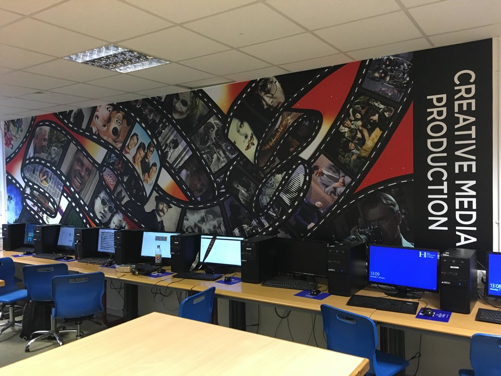 The London Mural Company x Henley College