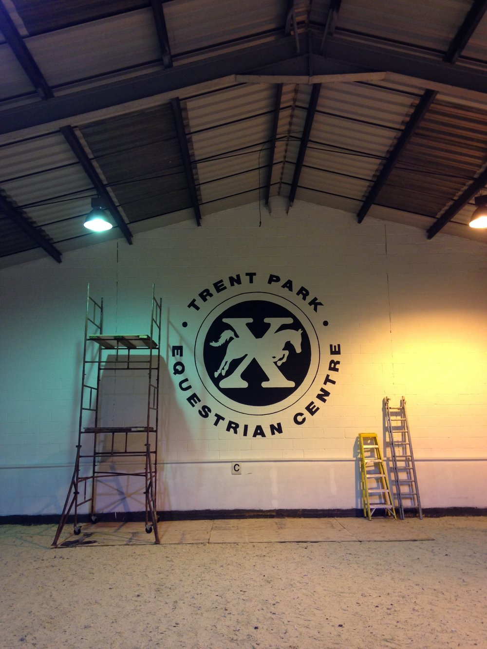 The London Mural Company x Trent park 2