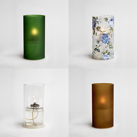Earth - Bringing together the natural tones of the garden, our Earth collection brings in some darker colours of moss with a light spray of blue rose.
