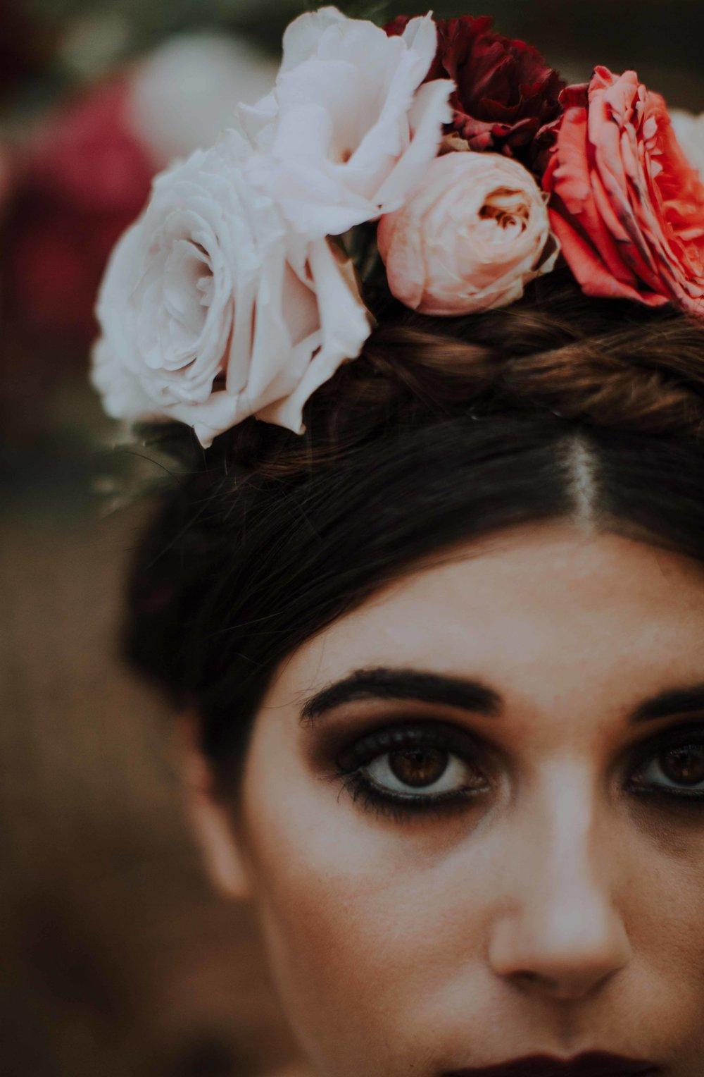 Shooting photo Frida Kahlo
