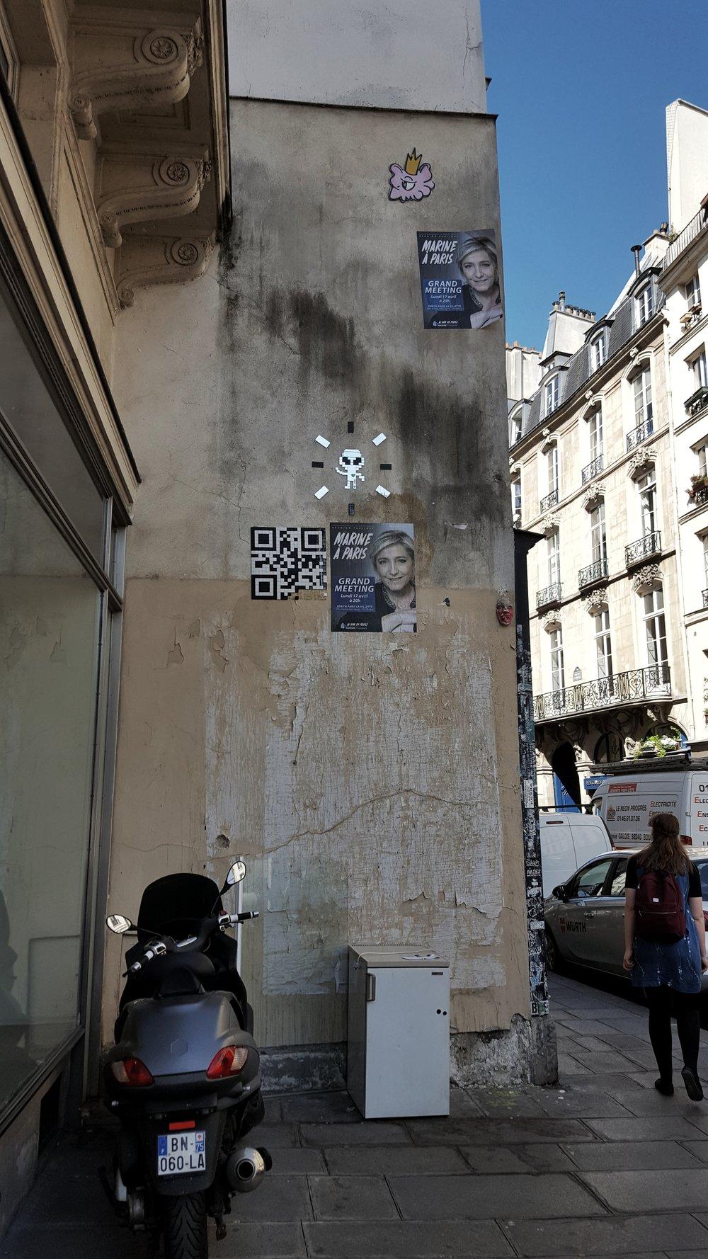 Somewhere near Rue Croix de Petit Champs