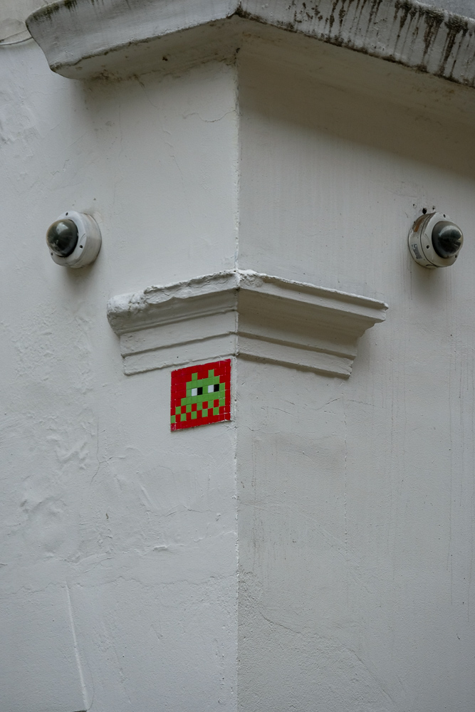 Space Invader, Meard Street