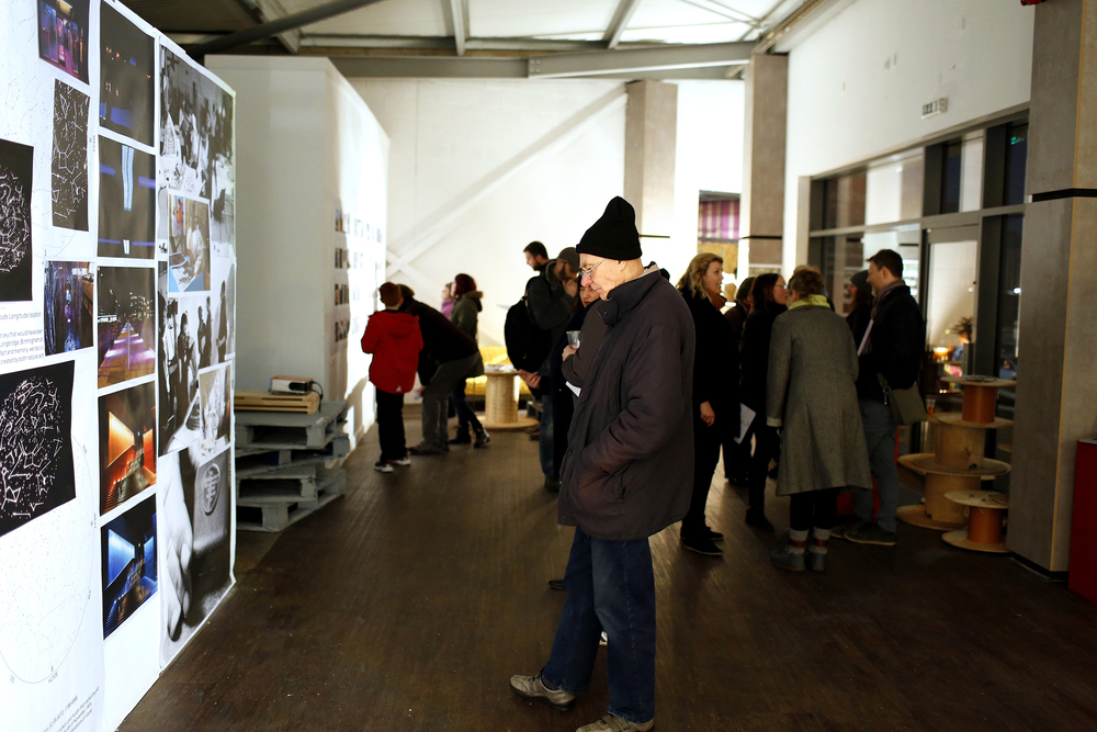Launch of Cathy Wade 'In Progress' Exhibition at the LPAP | SPACE, photography by Stephen Burke