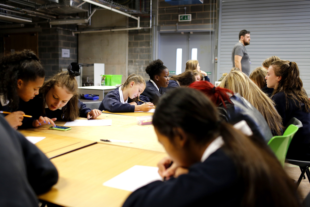 Digital Longbridge workshop with Turves Green Girls School