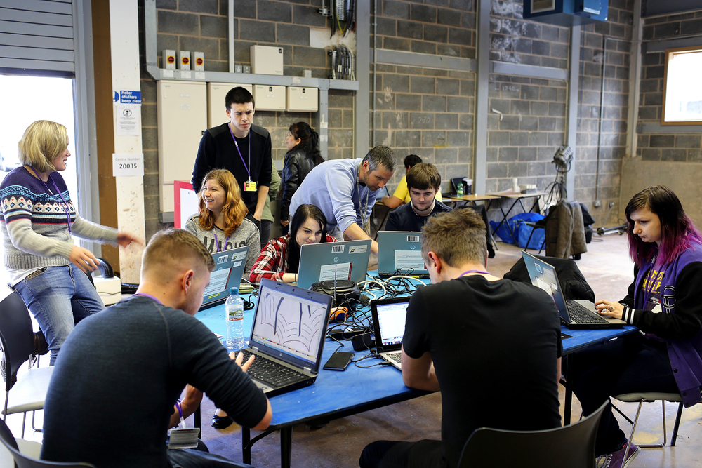 Digital Longbridge workshop with Bournville College students
