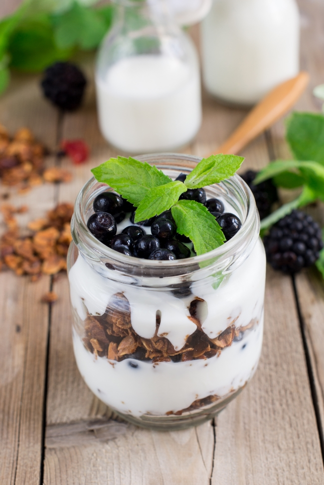 Layer Coconut Yogurt Parfait | Buddha Brands Co.