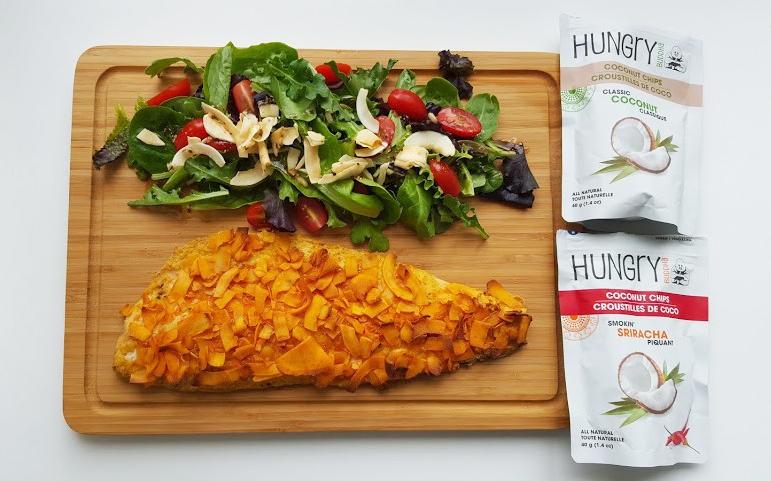 Coconut Crusted Salmon | Buddha Brands Co