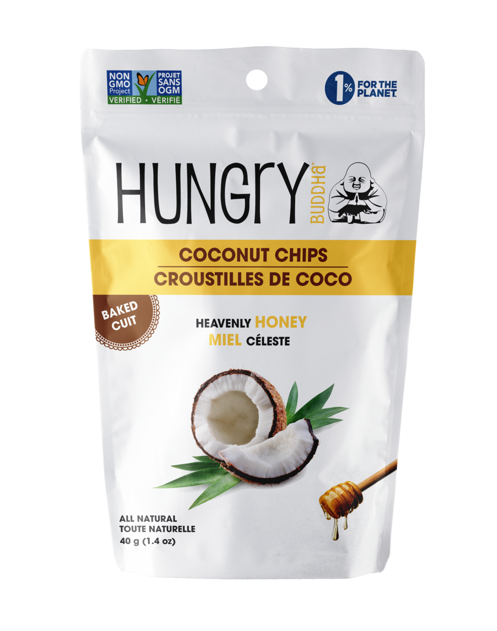 Hungry Buddha Heavenly Honey Coconut Chips