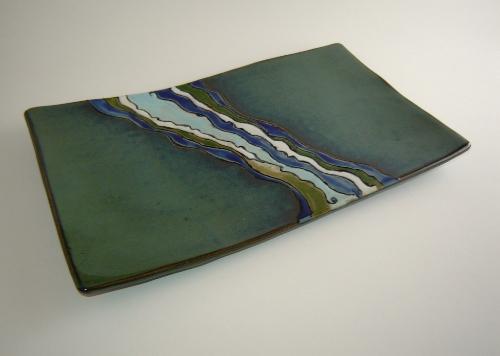 Green Shoreline Platter