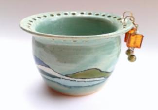 Turquoise Shoreline Earring Bowl