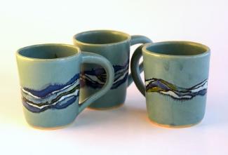 Turquoise Shoreline Mug