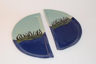 Sea Kelp Half Plates