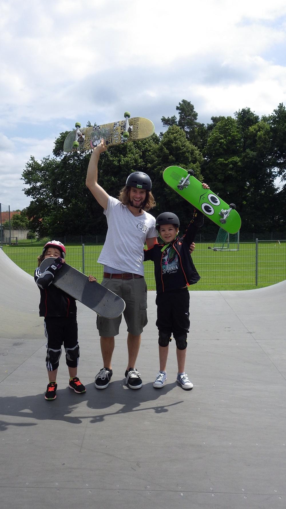 Skatekurs Pullach Skatepark München Skateworkshop TomCatSkate.com SK.JPG