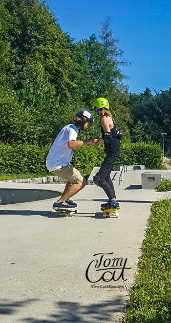 Skatekurs Bad Tölz Skaten Lernen mit Profi Tom Cat auch Longboardkurse im raum München, Bad Tölz, Lenggries  5.JPG