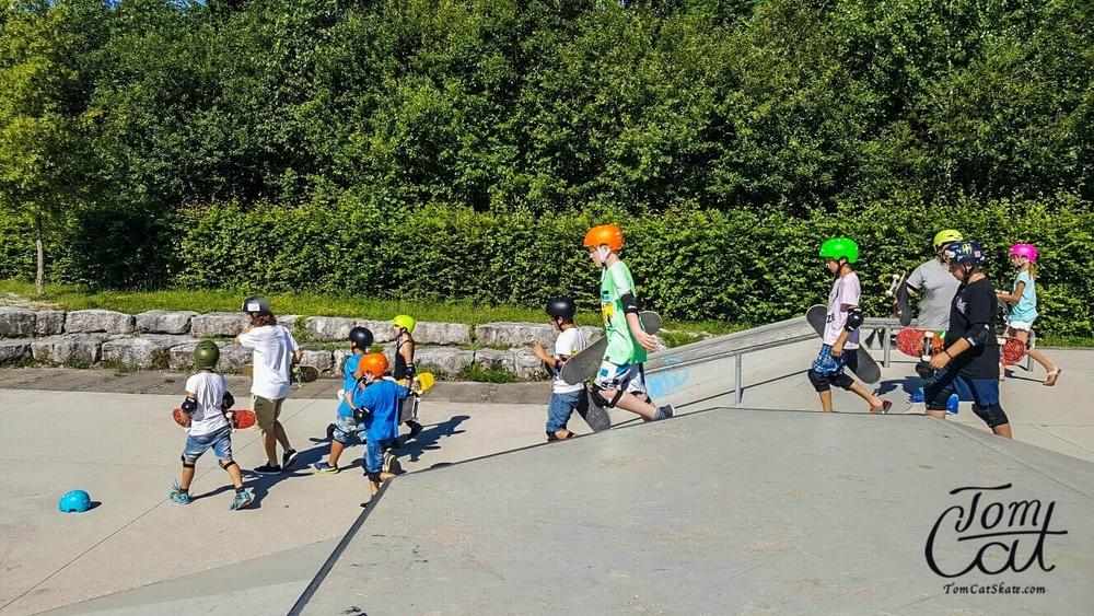 Skatekurs Bad Tölz Skaten Lernen mit Profi Tom Cat auch Longboardkurse im raum München, Bad Tölz, Lenggries  7.JPG