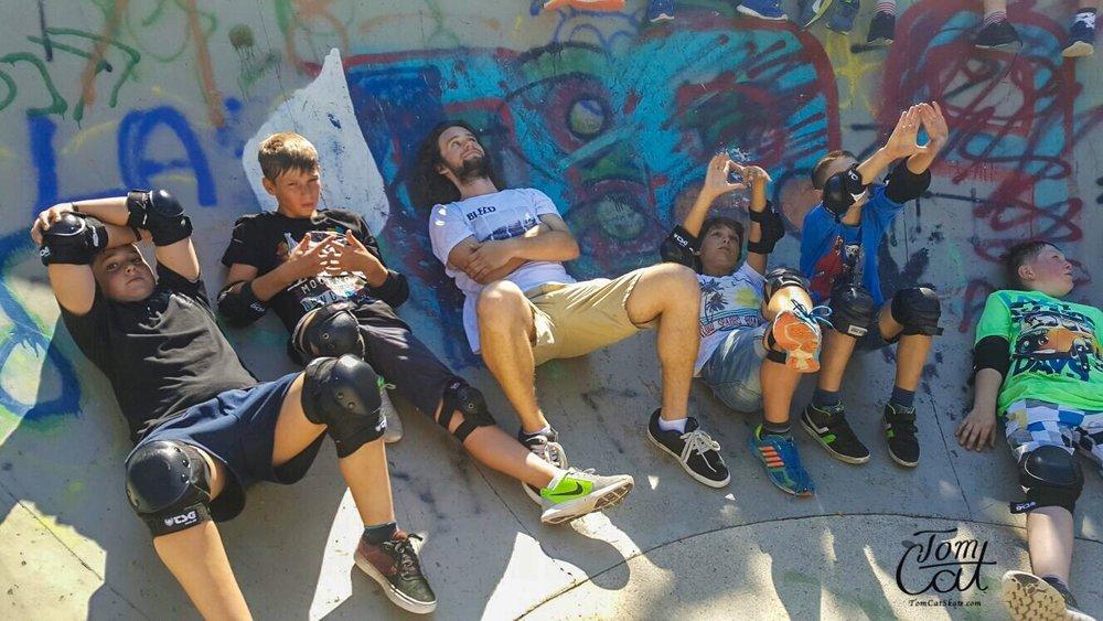 Skatekurs Bad Tölz Skaten Lernen mit Profi Tom Cat auch Longboardkurse im raum München, Bad Tölz, Lenggries  9.JPG