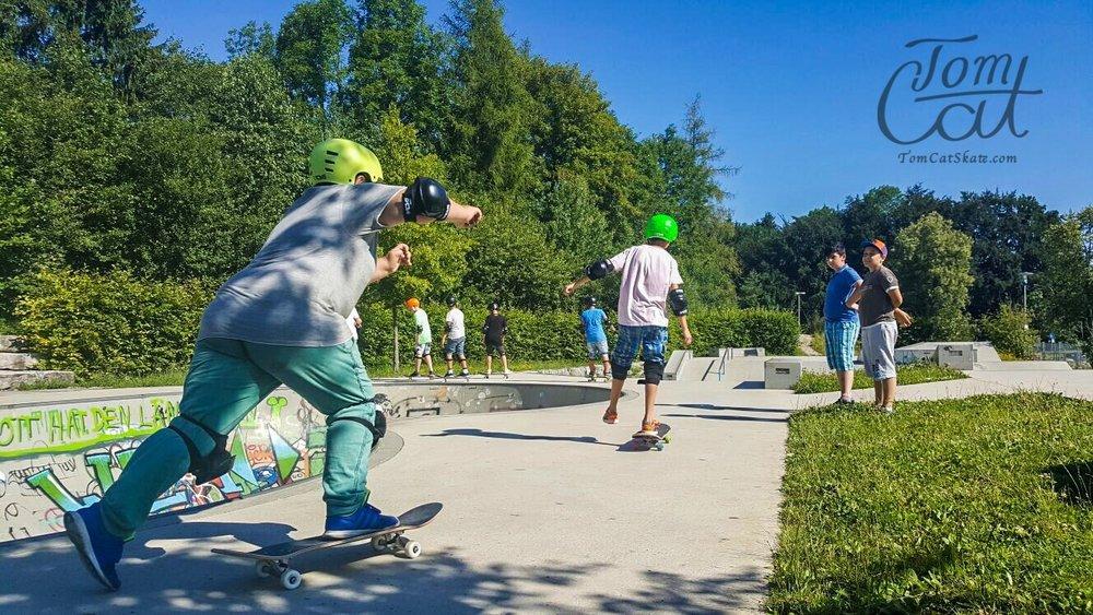 Skatekurs Bad Tölz Skaten Lernen mit Profi Tom Cat auch Longboardkurse im raum München, Bad Tölz, Lenggries 12.JPG
