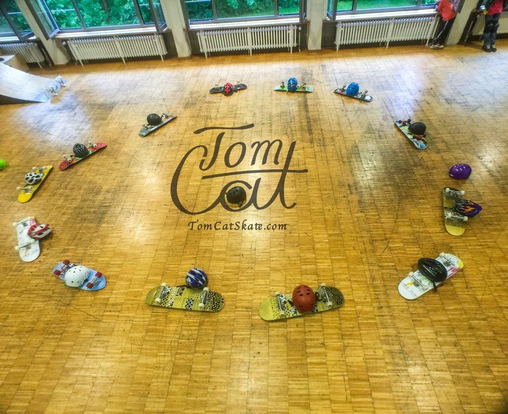 Skatekurs München Jugendcafe Bad Tölz mit Profi Skateboarder Tom Cat 3.JPG